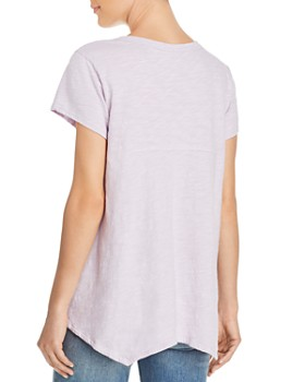 Wilt - Asymmetric High/Low Shrunken Tee
