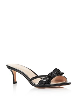kate spade new york - Women's Simona Backless Kitten Heel Sandals