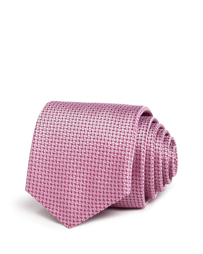 BOSS - Tonal Geometric Classic Tie
