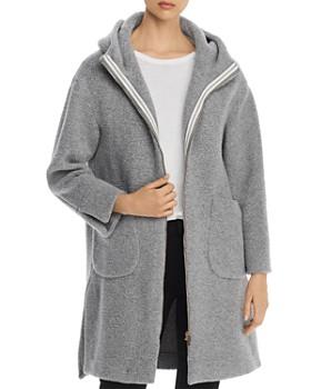 Herno - Hooded Long Teddy Coat - 100% Exclusive