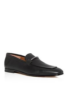BOSS - Men's Safari Leather Apron-Toe Loafers