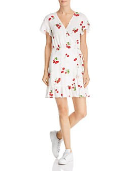 Rails - Koreen Cherry Bloom Wrap Dress