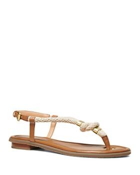 b080d96653d MICHAEL Michael Kors - Women s Holly Rope Thong Sandals ...
