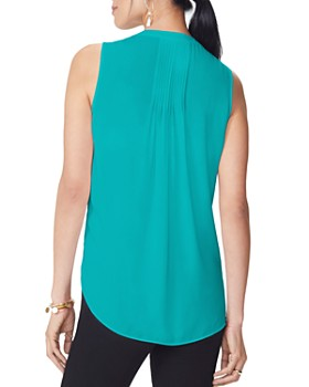NYDJ - Sleeveless Pintuck-Back Blouse