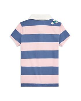 Ralph Lauren - Girls' Embroidered Cotton Rugby Shirt - Little Kid