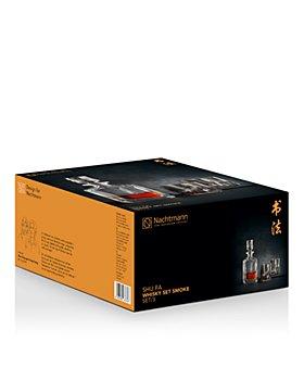 Riedel - Nachtmann Shu Fa Smoke Whiskey Decanter & Glass Set