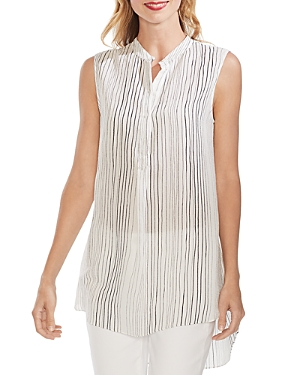 Vince Camuto Tops SLEEVELESS STRIPED TUNIC