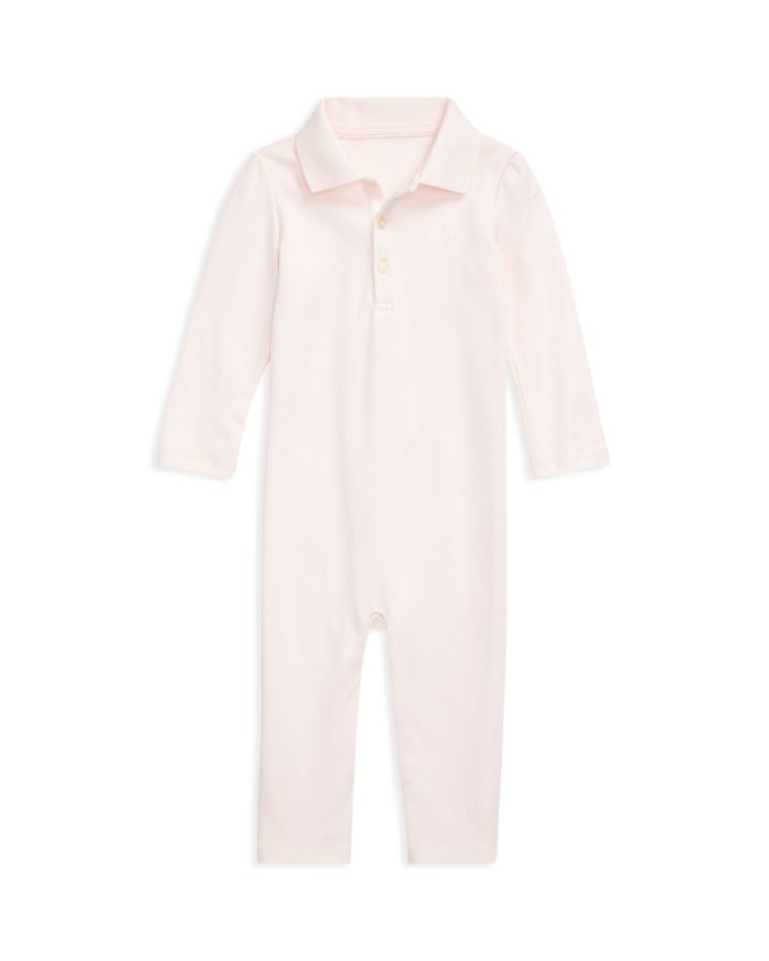 Ralph Lauren Girls' Polo Coverall - Baby  | Bloomingdale's