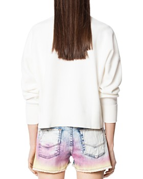 Zadig & Voltaire - Nell Girls Jacquard Sweater