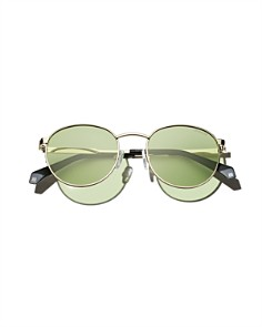 Polaroid - Unisex Polarized Pantos Sunglasses, 51mm
