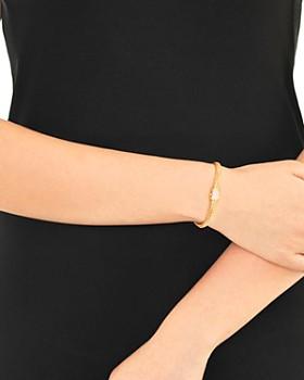 JOHN HARDY - 18K Yellow Gold Classic Chain Diamond Extra-Small Bracelet