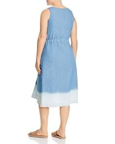 JUNAROSE Plus - Marci Dip-Dyed Chambray Dress