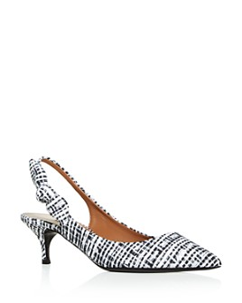Tabitha Simmons - Women's Rise Slingback Kitten-Heel Pumps - 100% Exclusive