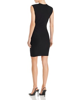 alexanderwang.t - Twisted Crepe Jersey Mini Dress