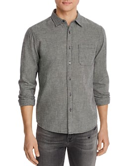 FRAME - Houndstooth Classic Fit Shirt
