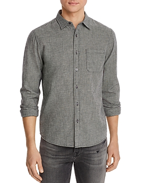 Frame Houndstooth Classic Fit Shirt