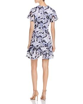 Elie Tahari - Yonica Floral-Burnout Dress