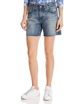 AG - Becke High-Rise Denim Shorts in 16 Years Immersed