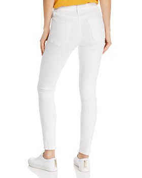 FRAME - Le High Skinny Jeans in Blanc