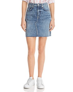 rag & bone/JEAN - Hayden Denim Skirt in Ave