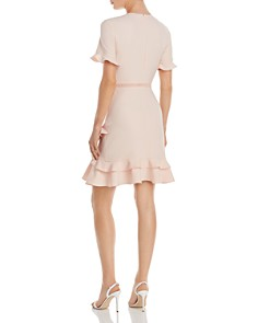 Shoshanna - Belleme Crepe Ruffle Dress