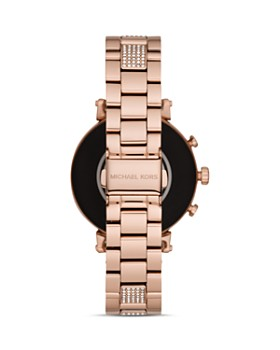 Michael Kors - Sofie Rose Gold-Tone Touchscreen Smartwatch, 41mm