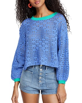 Free People - Home Run Pointelle Sweater