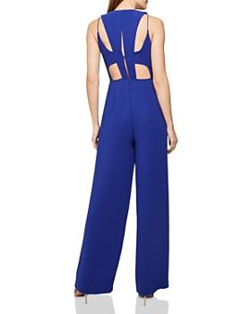 REISS - Chey Back-Cutout Jumpsuit