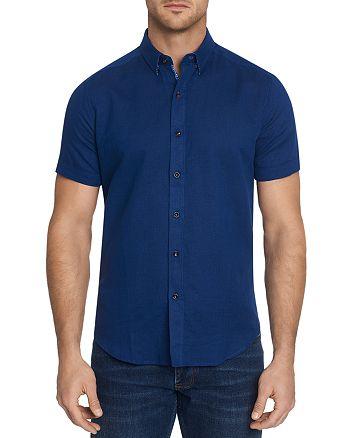 Robert Graham - Tranverse Short-Sleeve Shirt, Bloomingdale's Slim Fit - 100% Exclusive