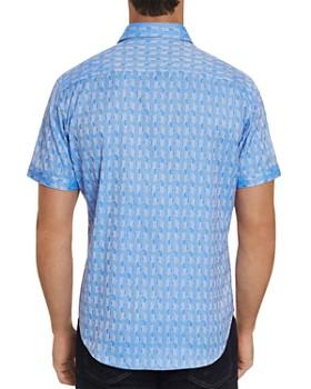 Robert Graham - Atlas Short-Sleeve Jacquard Print Classic Fit Shirt