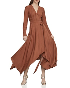 2ff9e48526e BCBGMAXAZRIA - Handkerchief-Hem Maxi Wrap Dress ...
