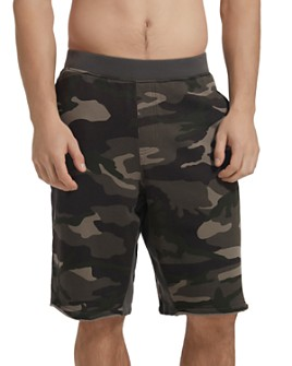 ATM Anthony Thomas Melillo - Camouflage-Print French Terry Sweat Shorts