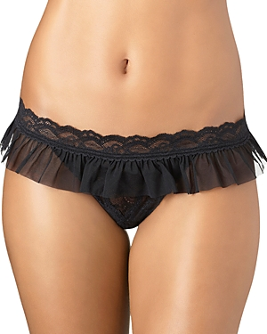 Aubade Paris Ruffle Lace Thong