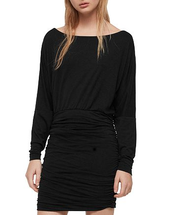 ALLSAINTS - Giogia Ruched Dress