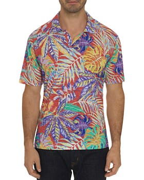 Robert Graham - Tropique Short-Sleeve Tropical-Print Classic Fit Shirt