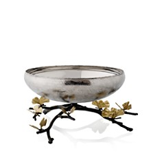 Michael Aram - Butterfly Ginkgo Footed Centerpiece Bowl