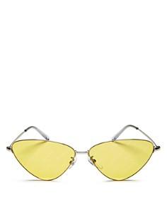 Balenciaga - Women's Logo Cat Eye Sunglasses, 61mm
