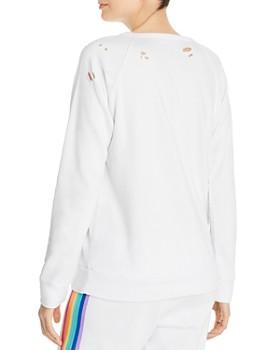 CHASER - Rainbow Stripe Sweatshirt