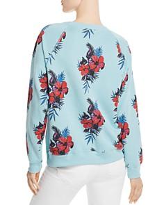 WILDFOX - Sommers Hibiscus Print Sweatshirt