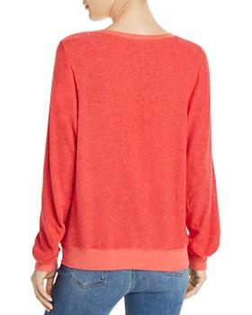 2c34152f3b ... WILDFOX - Baggy Beach Love Signs Sweatshirt