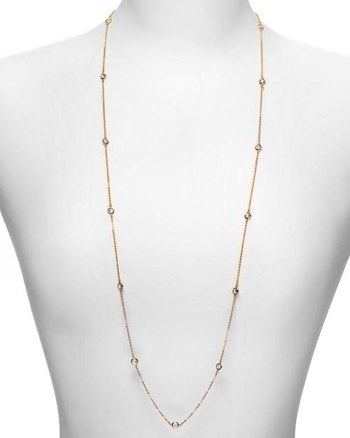 "Crislu - Station Chain Necklace, 36"""