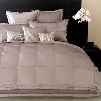 Donna Karan Modern Classics Bedding Platinum Ash Bloomingdales - Donna-karans-modern-classics-bedding-collection