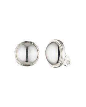Ralph Lauren - Clip-On Button Earrings