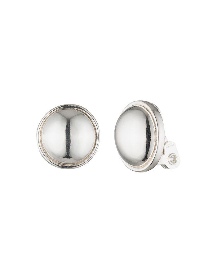 Ralph Lauren - Clip-On Button Earrings