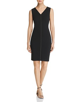 Calvin Klein - Embellished Sheath Dress