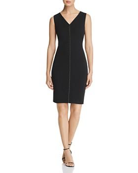 22085f10153c Calvin Klein - Embellished Sheath Dress ...