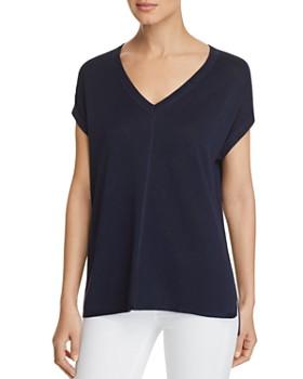 Donna Karan - Lightweight Short-Sleeve Sweater