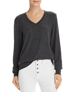 WILDFOX - Baggy Beach V-Neck Sweatshirt