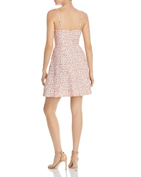 Fame and Partners - Floral-Print A-Line Mini Dress