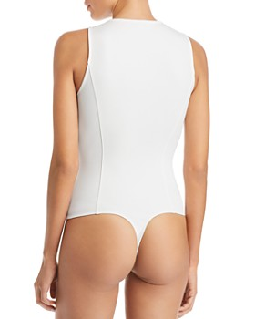 GUESS - Lanya Strap-Detail Bodysuit